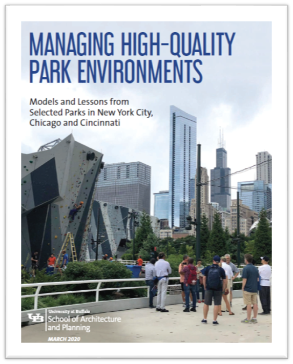 Managing High-Quality Park Environments