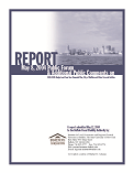 Report on Public Forum 2004-2005 Budget and Four-Year Financial Plan for City of Buffalo