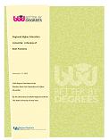 Regional Higher Education Consortia: Best Practices