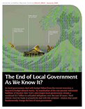 The End of Local Government As We Know It?