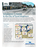 Violent Crime in the City of Good Neighbors