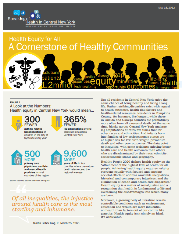A Cornerstone of Healthy Communities