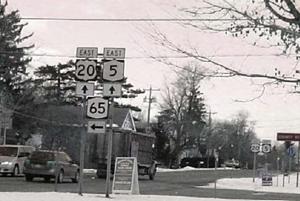 Route 5 & 20 Corridor