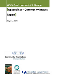 WNY Environmental Alliance Report- Appendix